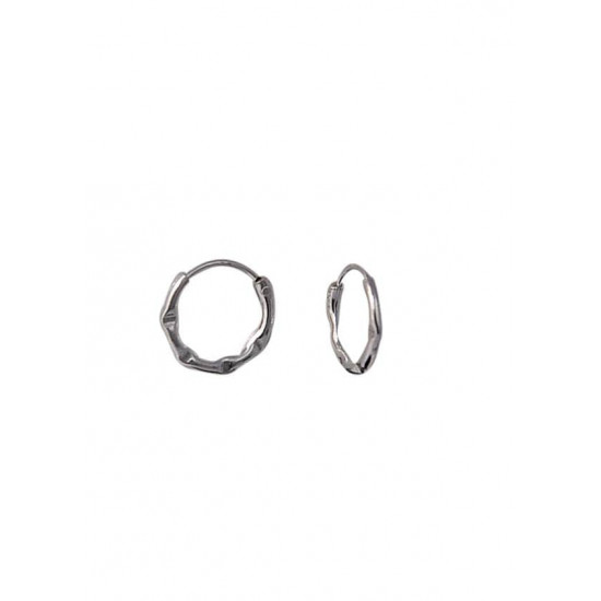 Designer and delicate Pure 92.5 Sterling Silver Small Hoop Earrings For Women and Girls Wife Mother Sister Friend Bhabhi Rakhi Valentine Anniversary Gift Stylish Latest