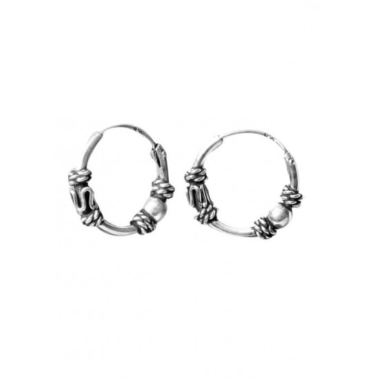 Cute 10 mm Pure 92.5 Sterling Silver light weighted Hoops For Women and Girls Wife Mother Sister Friend Bhabhi Rakhi Valentine Anniversary Gift Stylish Latest