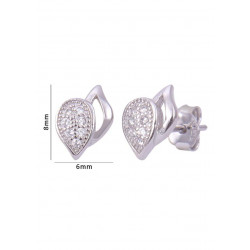 Pair of good looking cubic zircon stud