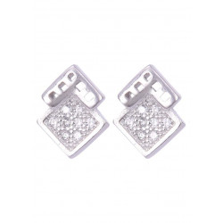Unique and trendy Pair of cubic zircon stud