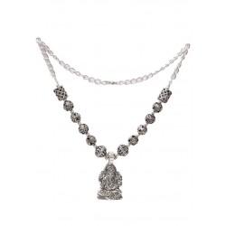 Designer Sitting Ganesha Necklace