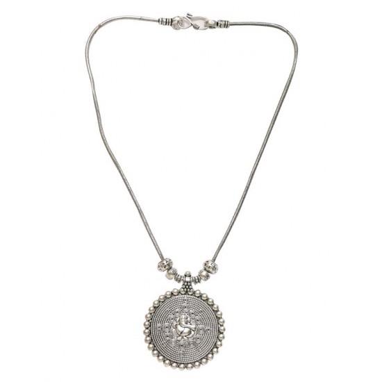 Designer Round Ganesha Necklace