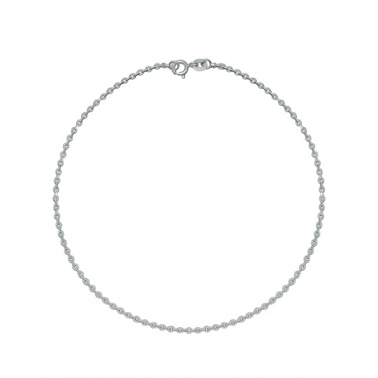 Pure 92.5 Sterling Silver Pair of Payal Anklets for Girls and Women Stylish Ideal Gift for Mother Bhabhi Sister Wife Friend Rakhi Birthday Anniversary