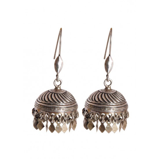 Good looking and big Jhumka in 925 Silver High Finish for Women and Girls Stylish Latest Gift for Birthday Anniversary Mother Bhabhi Wife Sister Friend