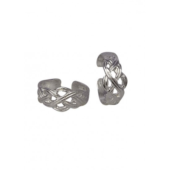 Beautiful pair of Toe Rings Bichiya pure 925 Sterling Silver Adjustable Toe Rings for Gift Women and Girls Mom Bhabhi Sister Wife